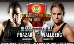 Frida Wallberg skadad och borta från ROKs matchlista
