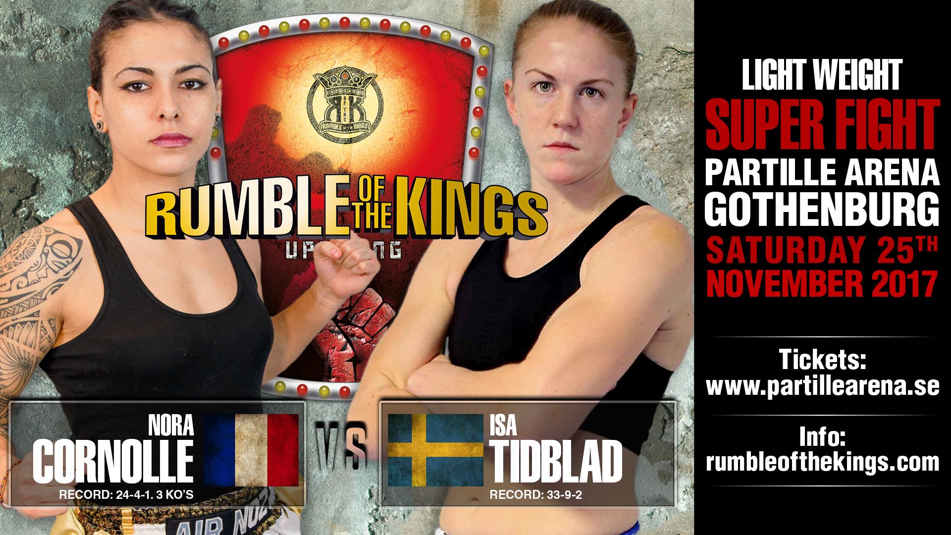 Nora Cornolle vs. Isa Tidblad Keskikangas