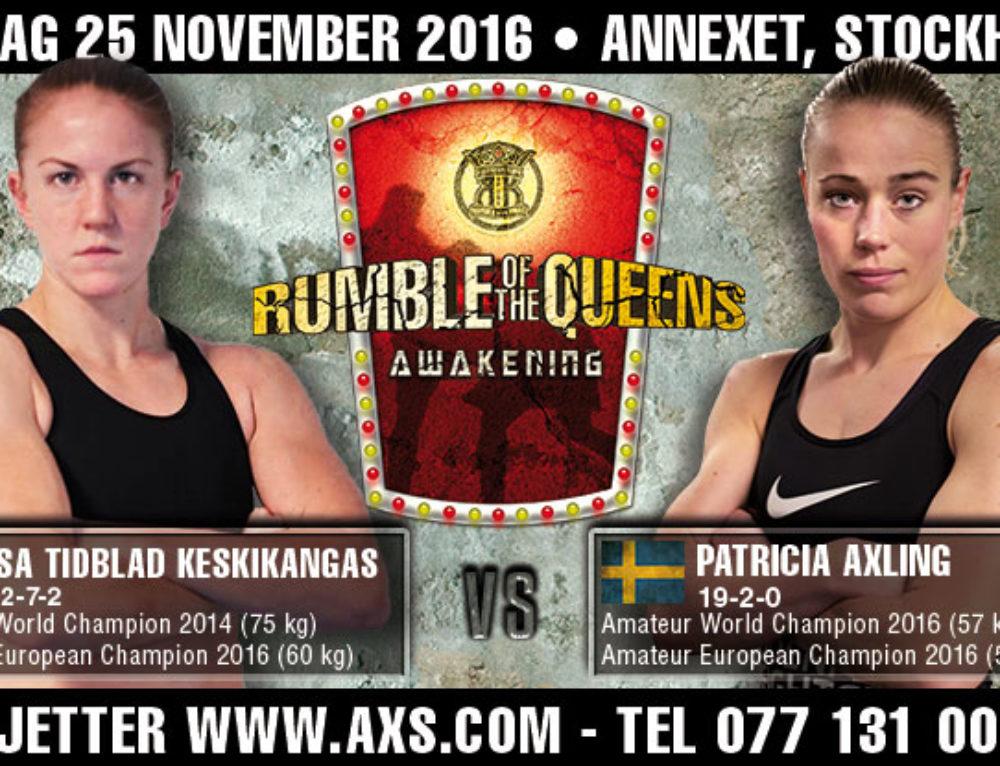 Isa Tidblad-Keskikangas vs. Patricia Axling