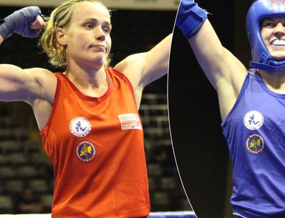 Laddat mästarmöte i thaiboxning