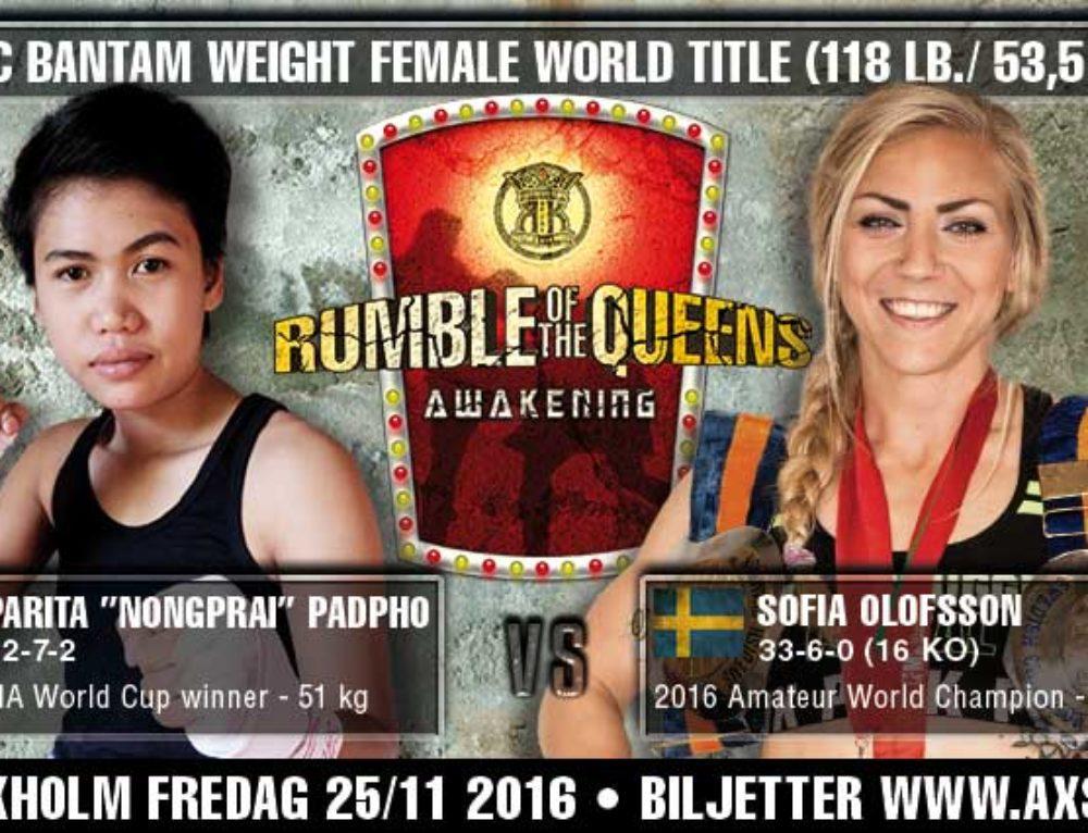 "Parita ""Nongprai"" Padpho vs. Sofia Olofsson"