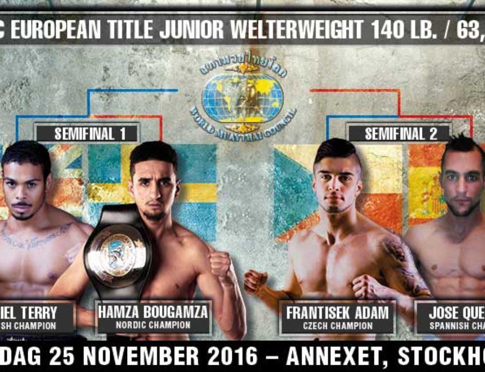 WMC European title