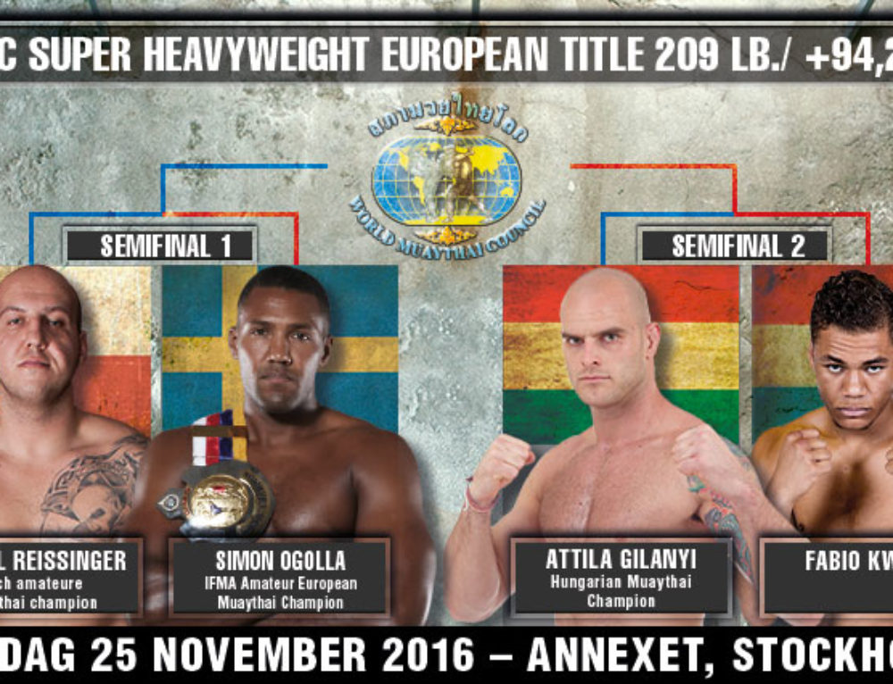 WMC Super Heavyweight European title